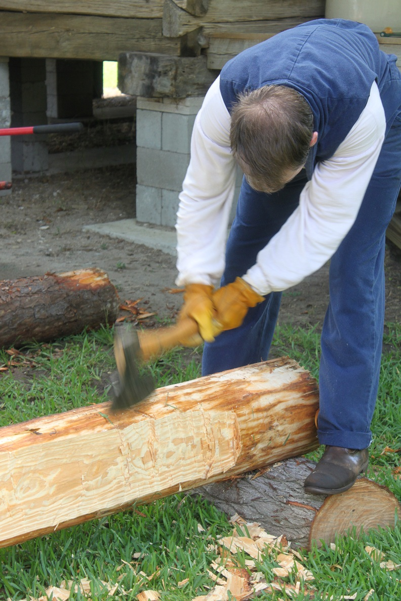 Log Cabin Construction Ax (2)